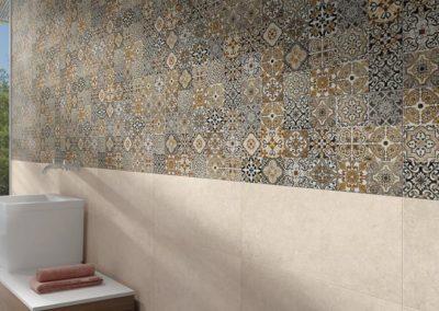 Mosaik - Keramikmosaik - Fliesenbordüre